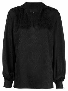 Nili Lotan paisley-print blouse - Black