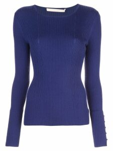 Jason Wu Collection ribbed knit sweater - Purple