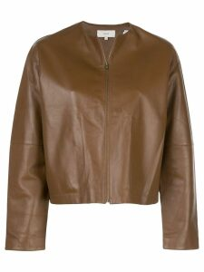 Vince cropped jacket - Brown
