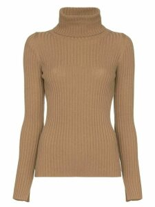 Nili Lotan Myla roll-neck cashmere sweater - Brown