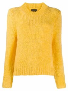 Isabel Marant ribbed trim jumper - Yellow