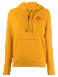 Isabel Marant Étoile Malibu hoodie - Yellow