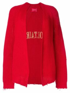 Zadig & Voltaire Lemmy cardigan - Red