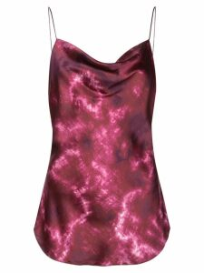 Cinq A Sept tie dye camisole top - PURPLE