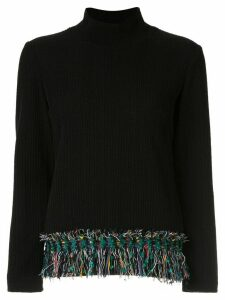 Coohem vimar tweed jumper - Black