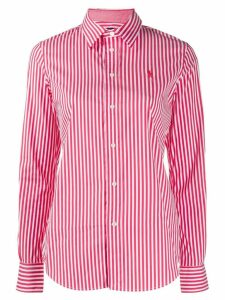 Polo Ralph Lauren striped slim fit shirt - Red