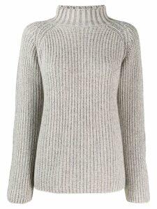 Incentive! Cashmere turtle neck cashmere sweater - Neutrals
