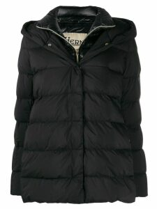 Herno layered padded jacket - Black