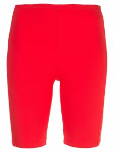 Paco Rabanne skinny-fit cycling shorts - Red