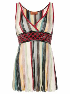 Missoni wrap V-neck top - Black