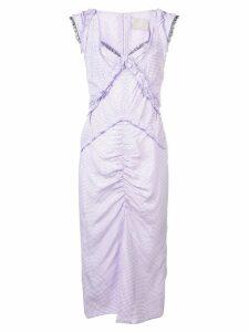 Jason Wu Collection gingham check dress - Pink