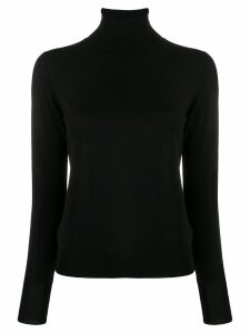 Nuur turtleneck slim-fit jumper - Black