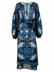 Vita Kin Scarab midi dress - Blue