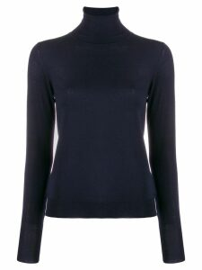 Nuur turtleneck slim-fit jumper - Blue