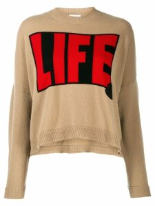 Moncler Life sweater - Brown