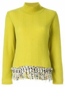 Coohem vimar tweed jumper - Yellow
