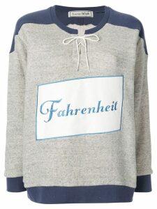 Tu es mon TRÉSOR Fahrenheit 451 sweatshirt - Grey