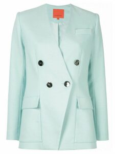 Manning Cartell double breasted blazer - Blue