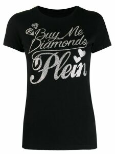 Philipp Plein round neck T-shirt - Black