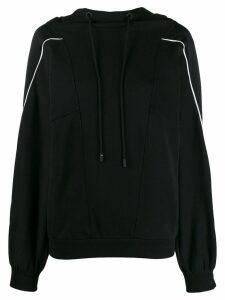 Iceberg drawstring hoodie - Black