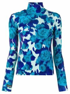 Richard Quinn patterned jumper - Blue