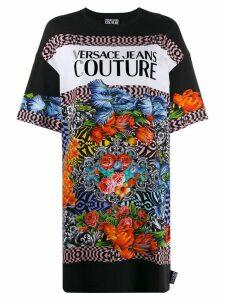 Versace Jeans Couture motif T-shirt - Black