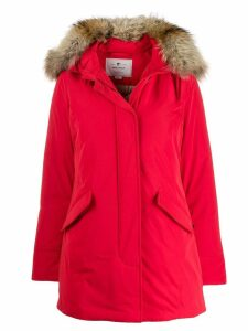 Woolrich hooded puffer jacket - Red