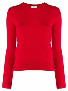 Allude slim-fit cashmere sweater - Red
