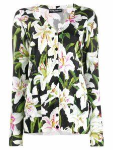 Dolce & Gabbana floral print cardigan - Green