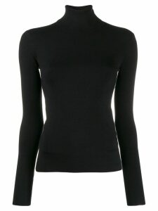 Joseph roll neck jumper - Black