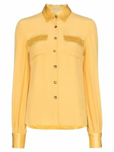 USISI Jacquetta button-down shirt - Yellow