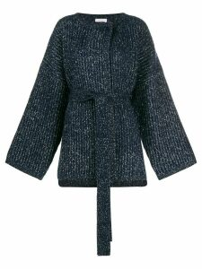 See By Chloé oversized cardigan - Blue