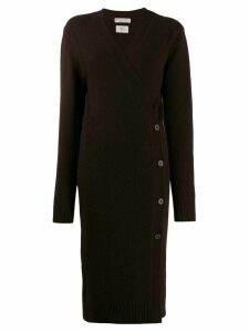 Bottega Veneta long cardigan - Brown