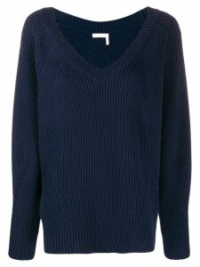 See by Chloé ribbed jumper - Blue