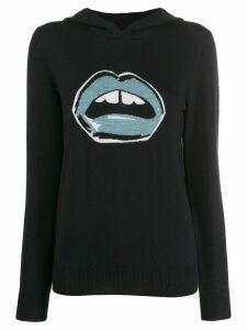 Markus Lupfer graphic printed hoodie - Blue
