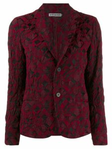 Issey Miyake blazer style jacket - Red