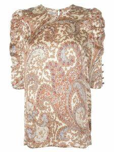 Baum Und Pferdgarten half-sleeved blouse - NEUTRALS