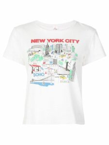 RE/DONE New York City T-shirt - White