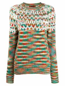 Missoni knitted jumper - Green