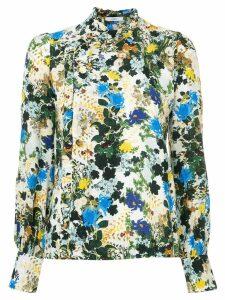 Erdem floral print blouse - Blue