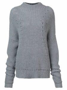 Jason Wu chunky knit sweater - Grey