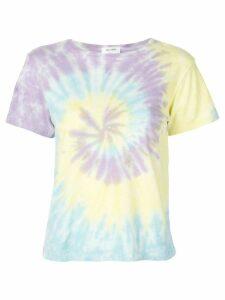 RE/DONE tie-dye print T-shirt - PURPLE