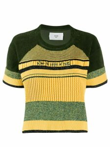 Quetsche short-sleeve striped T-Shirt - Green