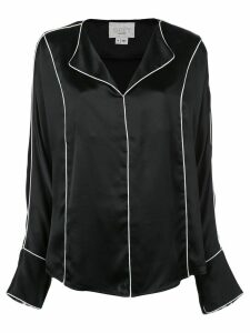 Jason Wu pajama-like blouse - Black