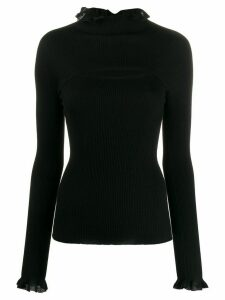 Philosophy Di Lorenzo Serafini frill detail jumper - Black