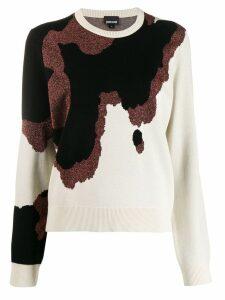 Just Cavalli knitted jumper - NEUTRALS