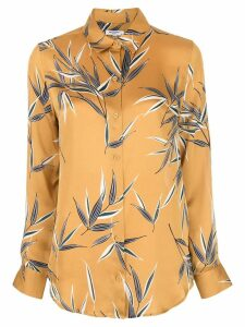 Equipment foliage-print shirt - Yellow