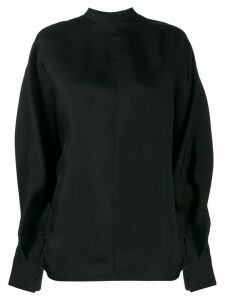 Jil Sander oversized sweatshirt - Black