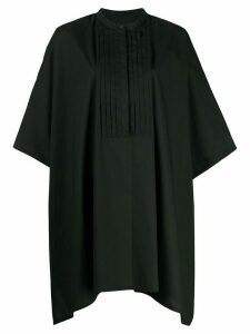 Mm6 Maison Margiela oversized pleated top - Black