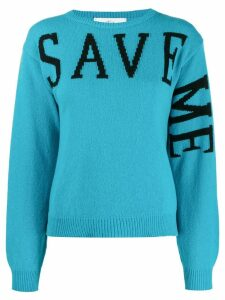 Alberta Ferretti Save Me jumper - Blue